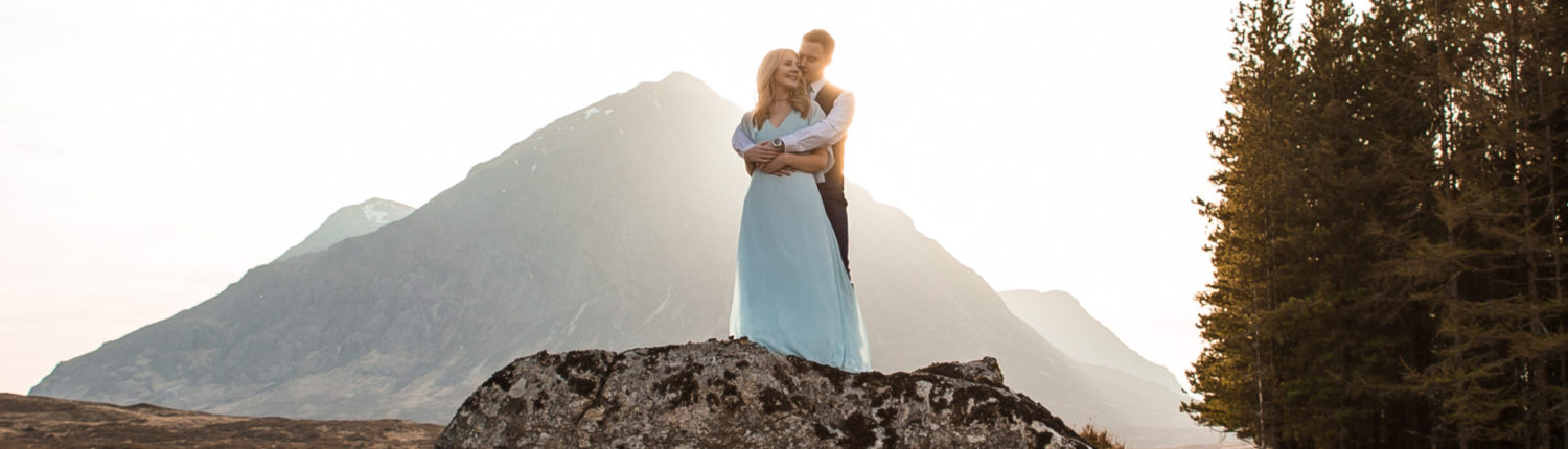 Glencoe Engagement Photoshoot