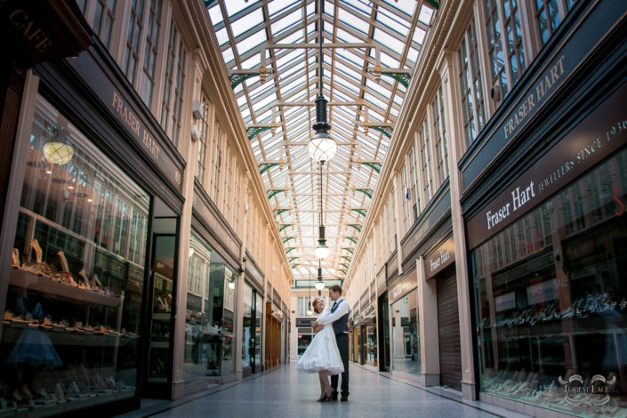 Wedding Photography Glasgow Arcade