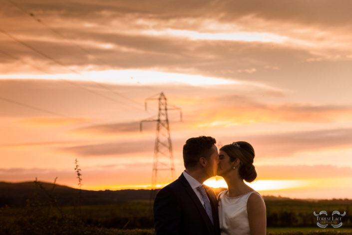 Wedding Photography Glasgow Sunset