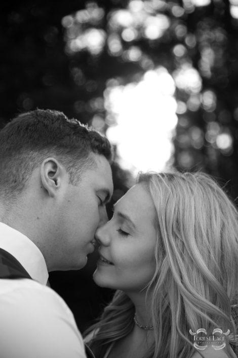 Wedding Photography Glasgow Kissing