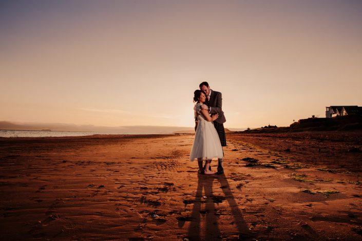 Seamill Hydro beach Wedding